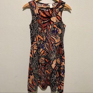H&M Graphic Print Skater Dress